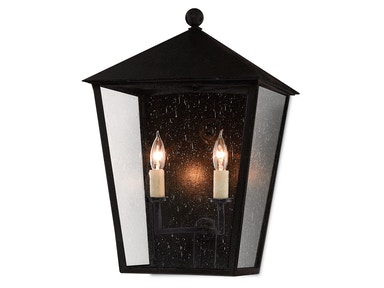 Currey and Company Bening Outdoor Wall Sconce 5500-0011