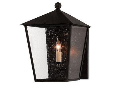 Currey and Company Bening Outdoor Wall Sconce 5500-0012