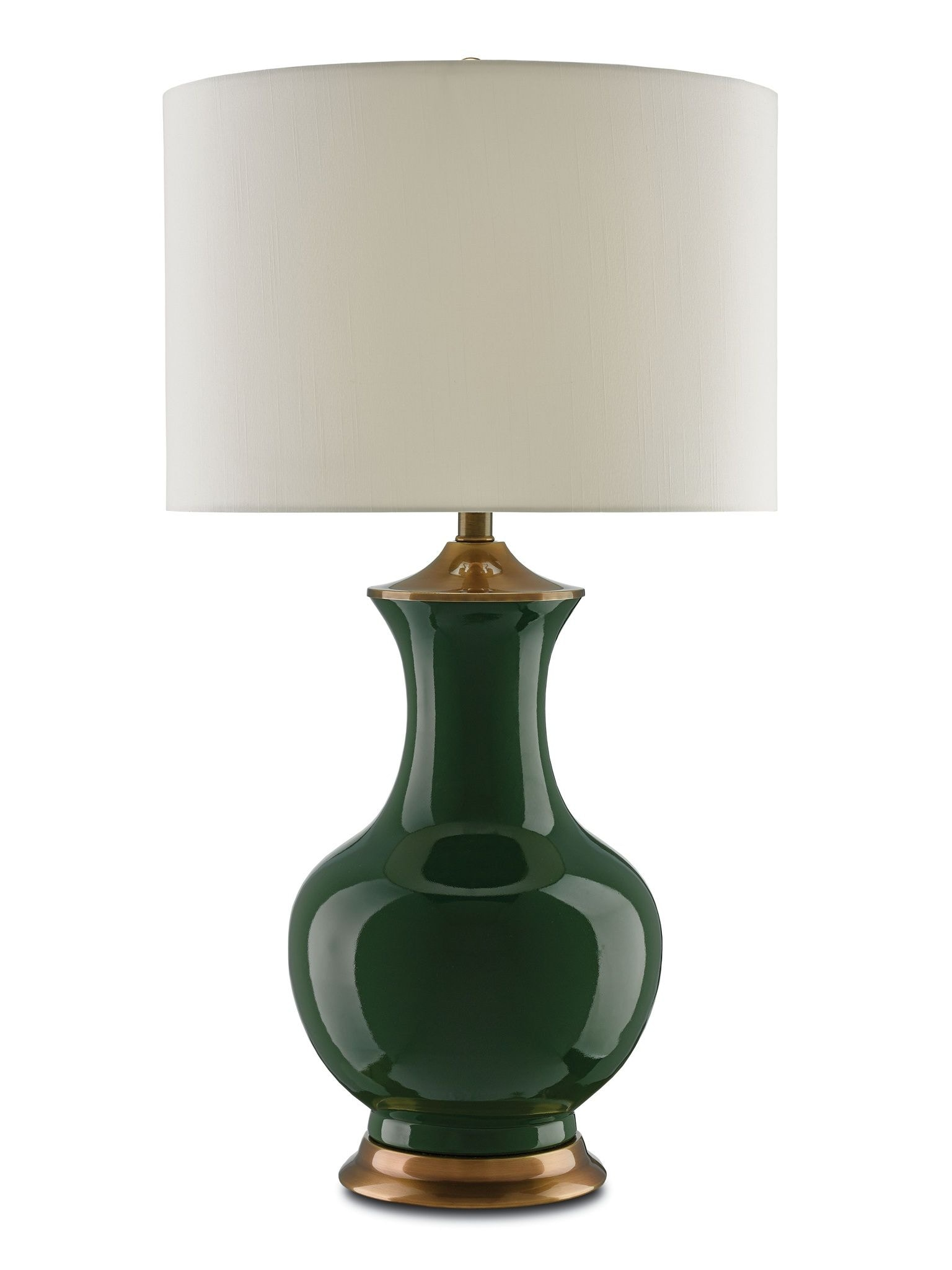 Captivating Currey And Company Table U0026 Floor Lamps Lilou Table Lamp, Green 6000 0022 Design Inspirations
