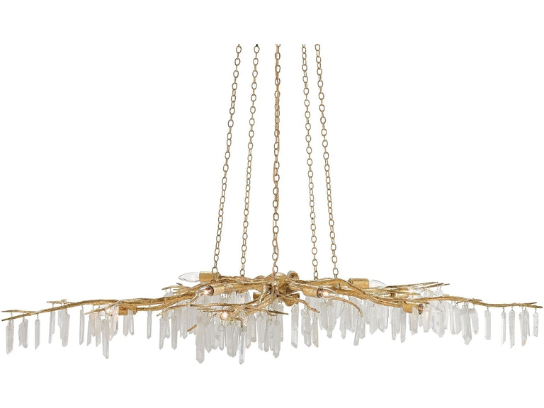 Currey And Company Forest Light Chandelier 9000 0040