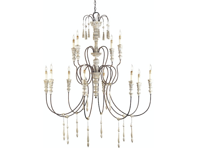 Currey And Company Hannah Chandelier Large 9117