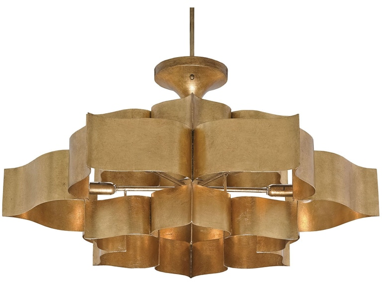 Currey And Company Grand Lotus Chandelier 9494