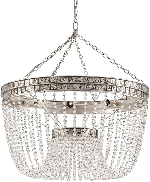 Currey And Company Stratosphere: Highbrow Chandelier CY9685