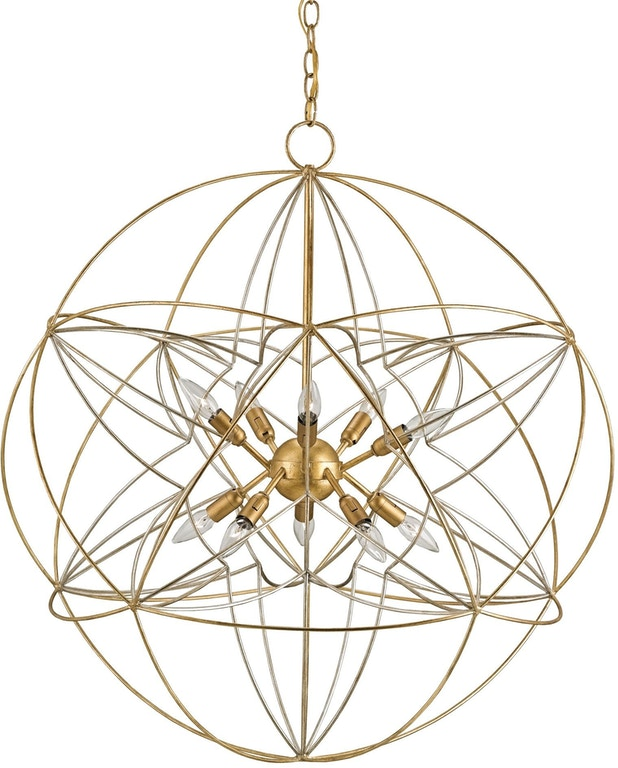 Currey And Company Stratosphere: Zenda Orb Chandelier CY9840