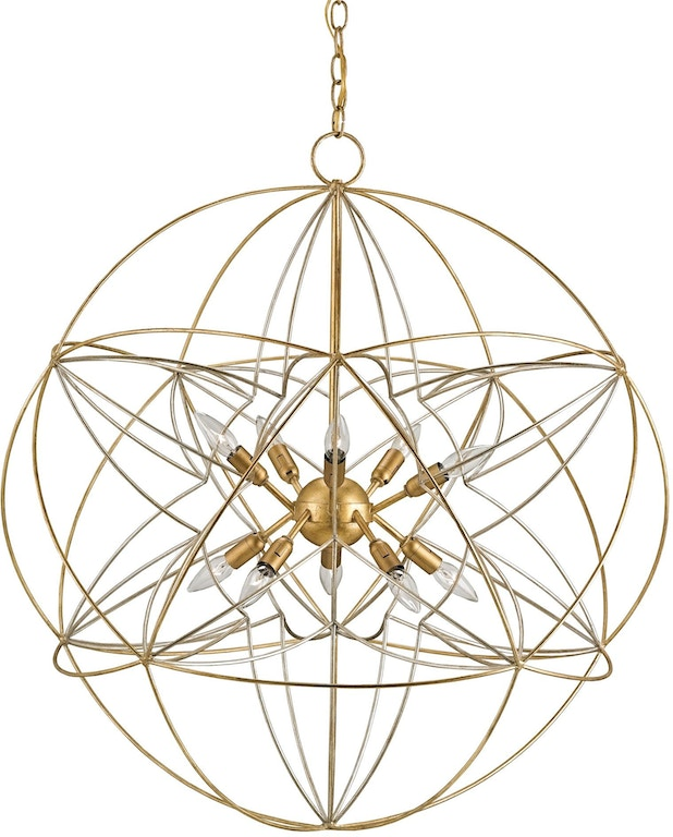 Currey And Company Orb Chandelier: Currey And Company Lamps And Lighting Zenda Orb Chandelier