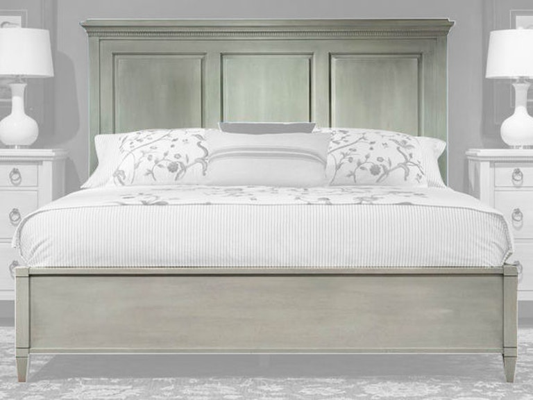 Durham Furniture Bedroom Queen Panel Bed 145-124 - Shofer\'s ...