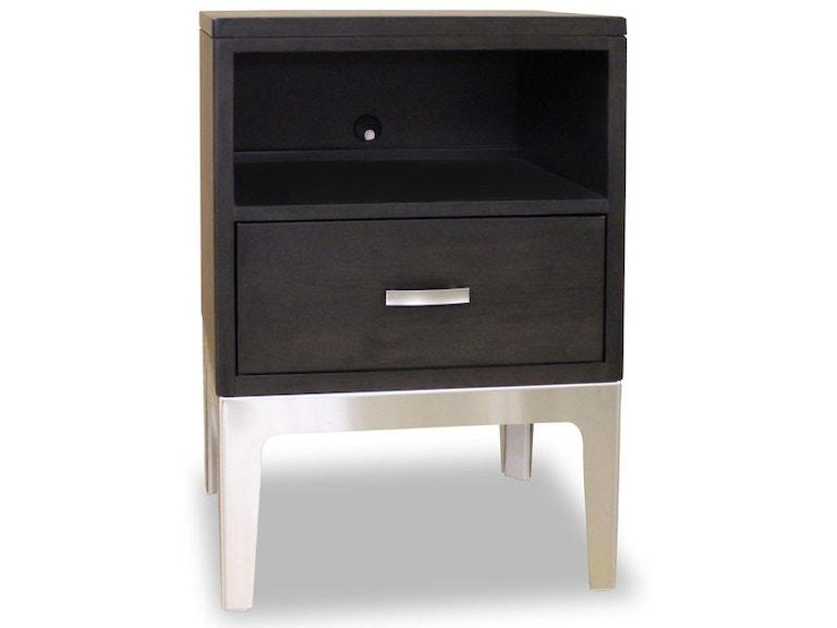 Durham Furniture 1 Drawer Night Table 157 201