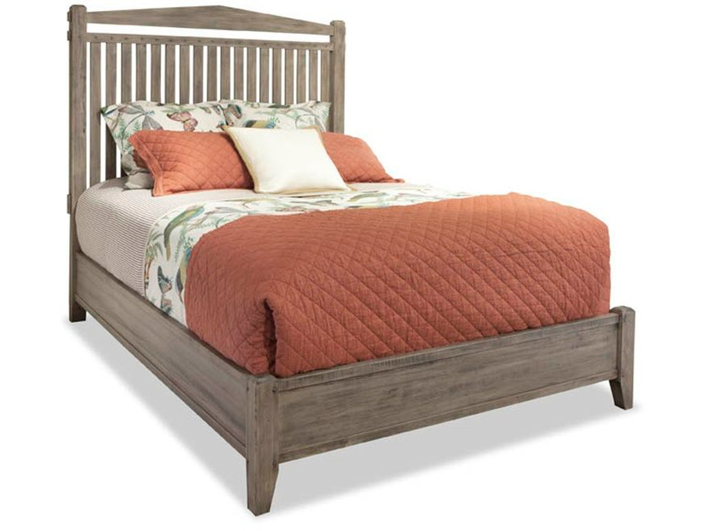 Queen Slat Bed NC401122