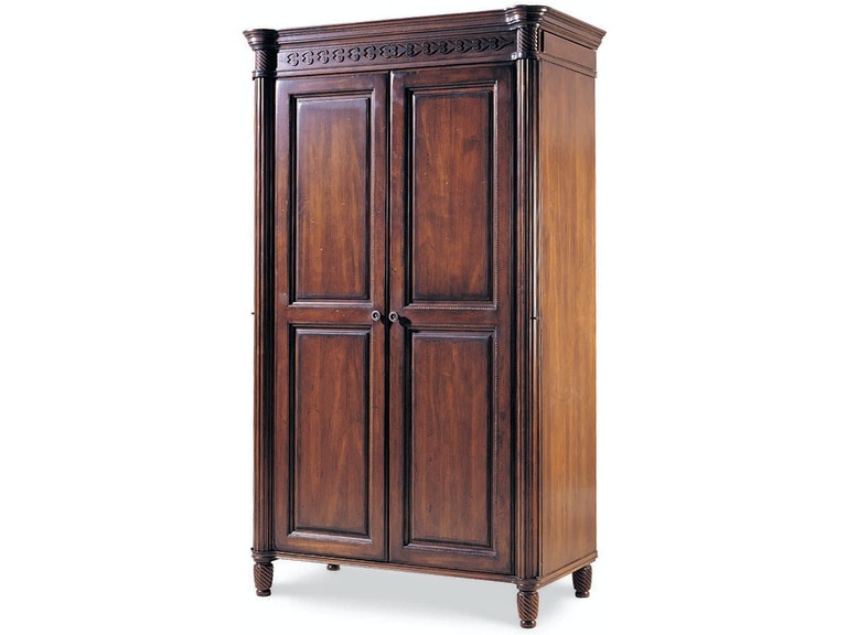Durham Furniture Bedroom Armoire 501 160 Hickory