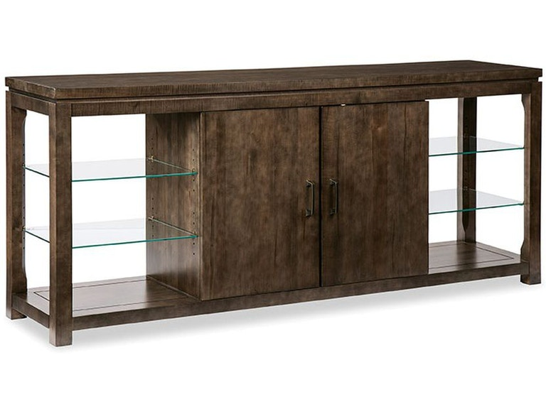 Durham Furniture Glass Shelf Console Cabinet 900 2901 James Antony