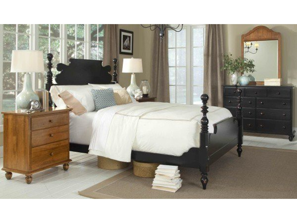 Durham Furniture Queen Cannonball Bed 900-125