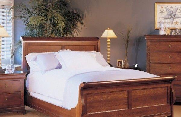 Durham Furniture Bedroom Queen Sleigh Bed 975 128 Darby