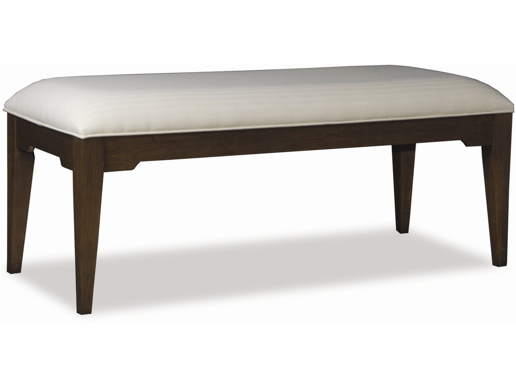 Durham Furniture Bedroom Contemporary Bench/Fabric 900-010A