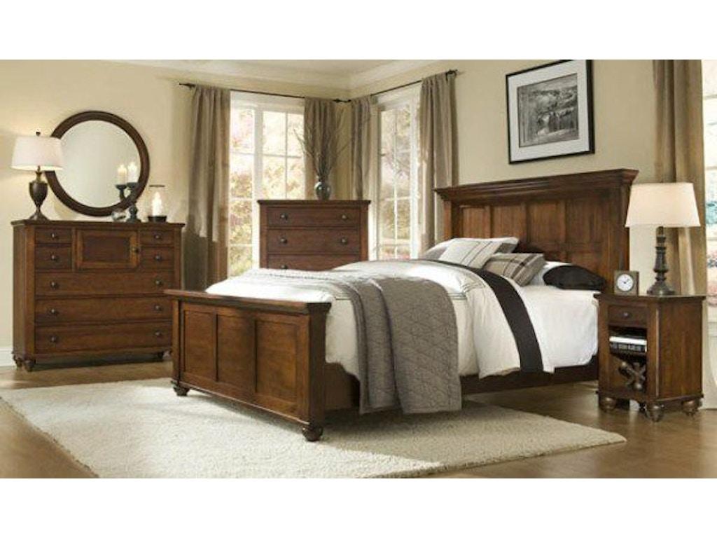 Special Pricing On Bedroom Furniture: Durham Furniture Bedroom Queen Panel Bed 111-124
