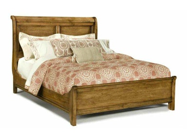 Durham Furniture Queen Low Sleigh Bed 112-128B