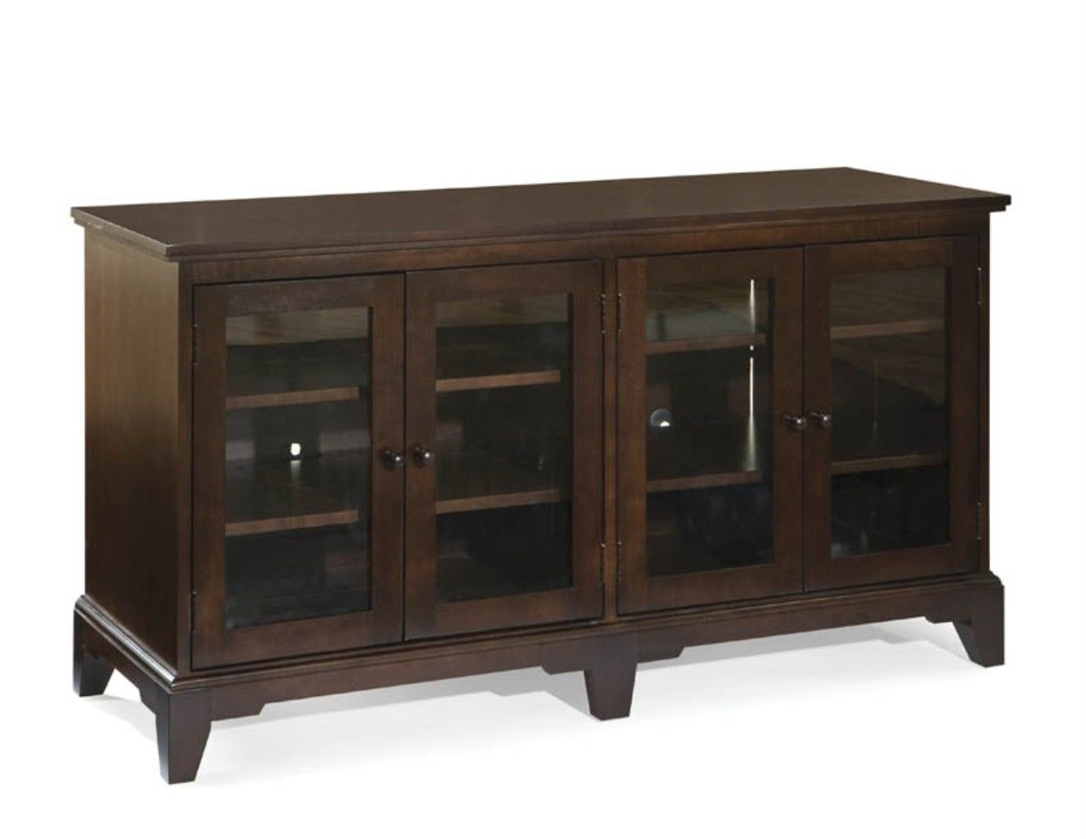 Charming Durham Furniture Modern Plasma Console 900 290