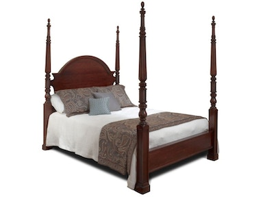 Durham Furniture Queen Palladian Poster Bed