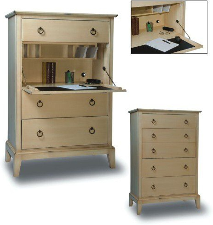 Durham Furniture Home Office Secretary Chest 900 153 Hickory