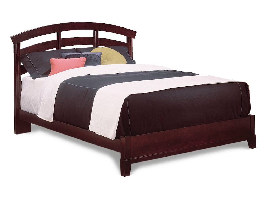 Durham Furniture Queen Slat Bed Complete 227 120
