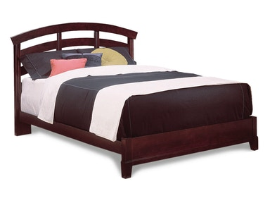 Durham Furniture Queen Slat Bed Complete 227-120