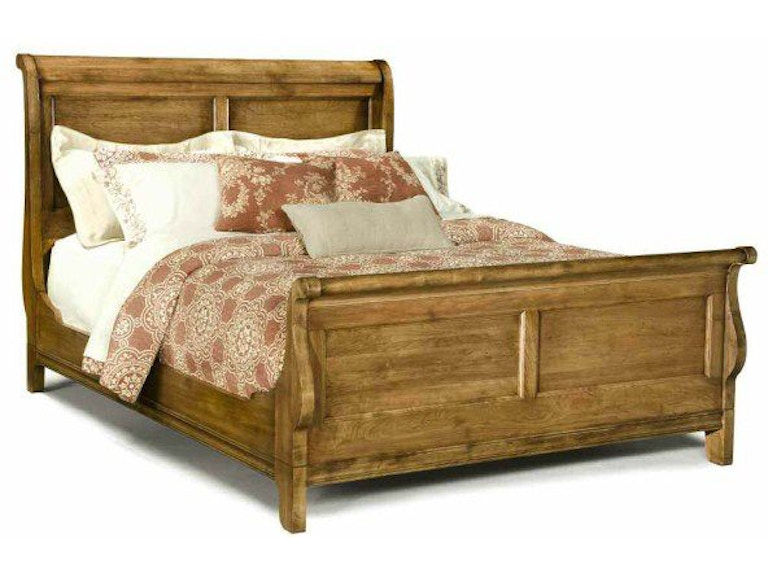 Durham Furniture Bedroom Queen Sleigh Bed 112-128 - Bartlett Home ...