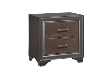 Emerald Home Furnishings Nightstand 2 Drawer B588-04
