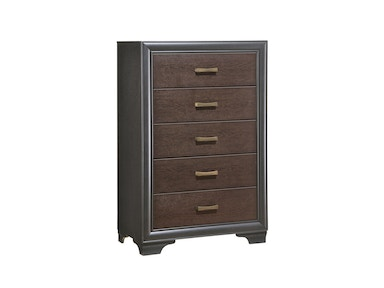 Emerald Home Furnishings Chest 5 Drawer B588-05