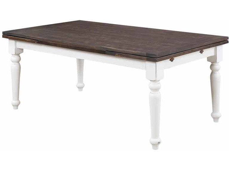 Emerald Home Furnishings Dining Room Extension Table D601 10 At Tin Roof