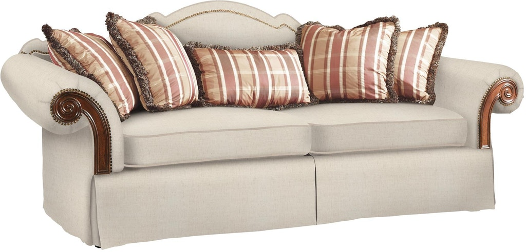 Fine Furniture Design Living Room Sofa With Wood Arm Panel 0810-01 ...