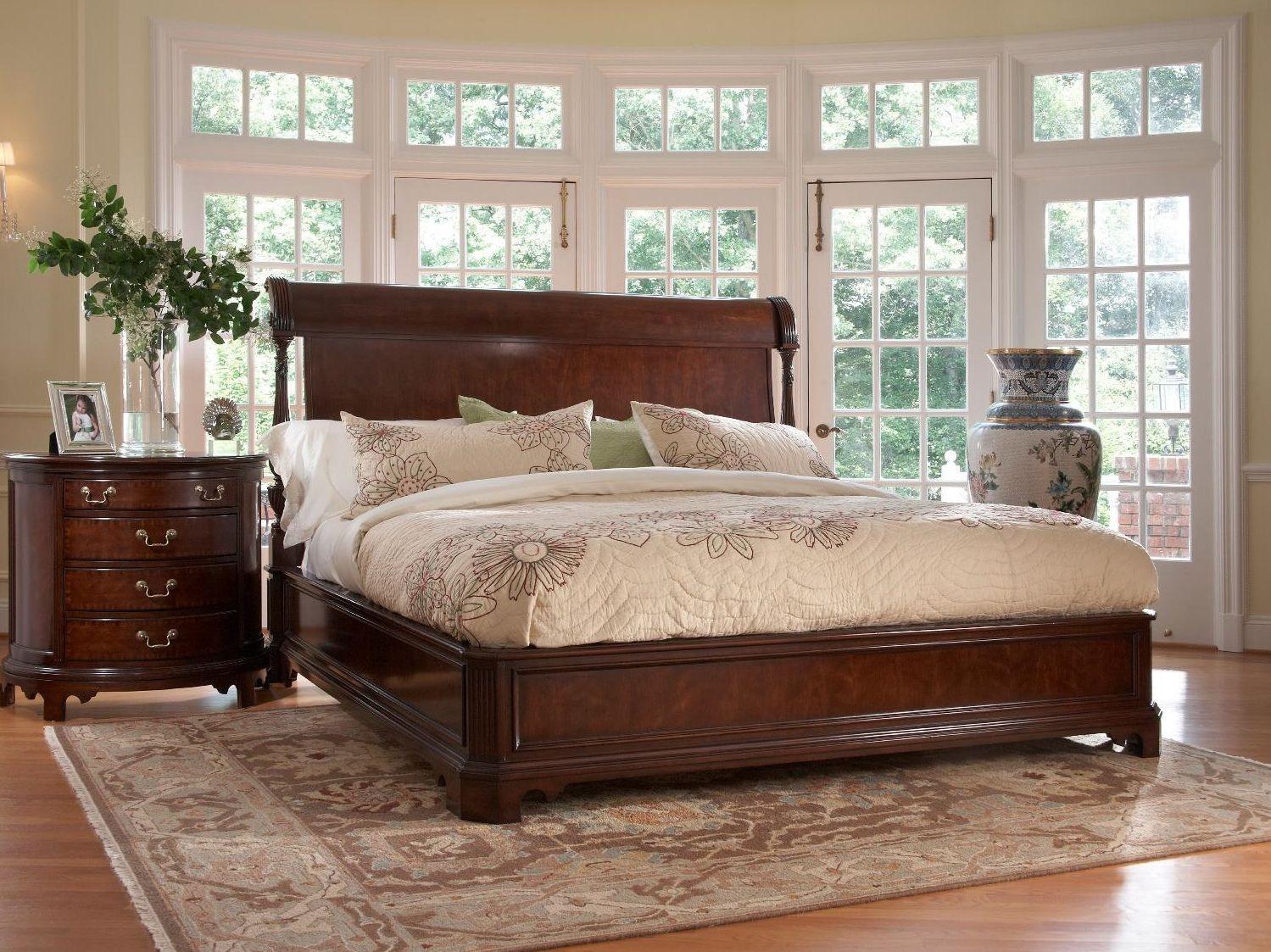 Fine Furniture Design Bedroom Charleston Platform Panel King Bed