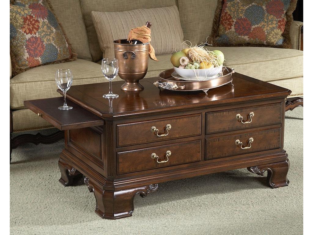 Fine Furniture Design Living Room Stafford Storage Cocktail Table 1020 910 Swann 39 S Furniture