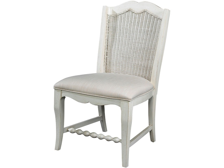 Fine Furniture Design Dining Room Wicker Back Side Chair 1051 824