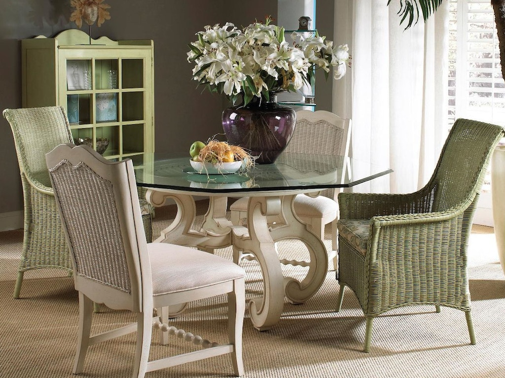 Fine Dining Room Tables And Chairs: Fine Furniture Design Dining Room Glass Top Table 1051-816