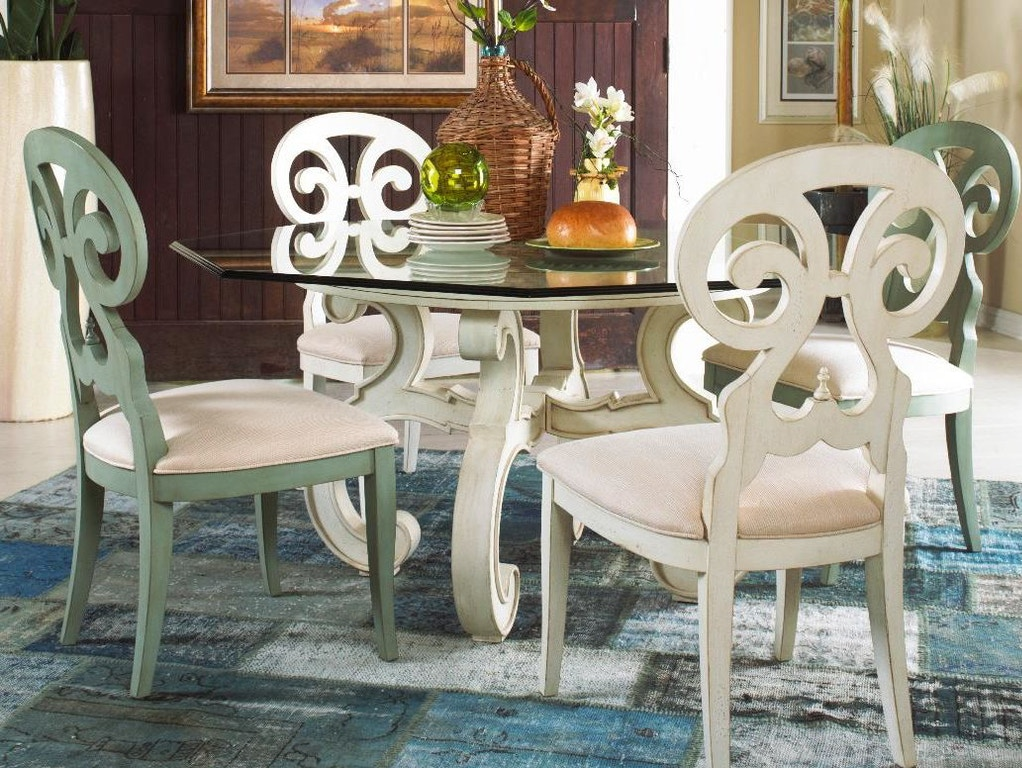 Fine Furniture Design Dining Room Glass Top Table 1051 816 Mccreerys Home Furnishings