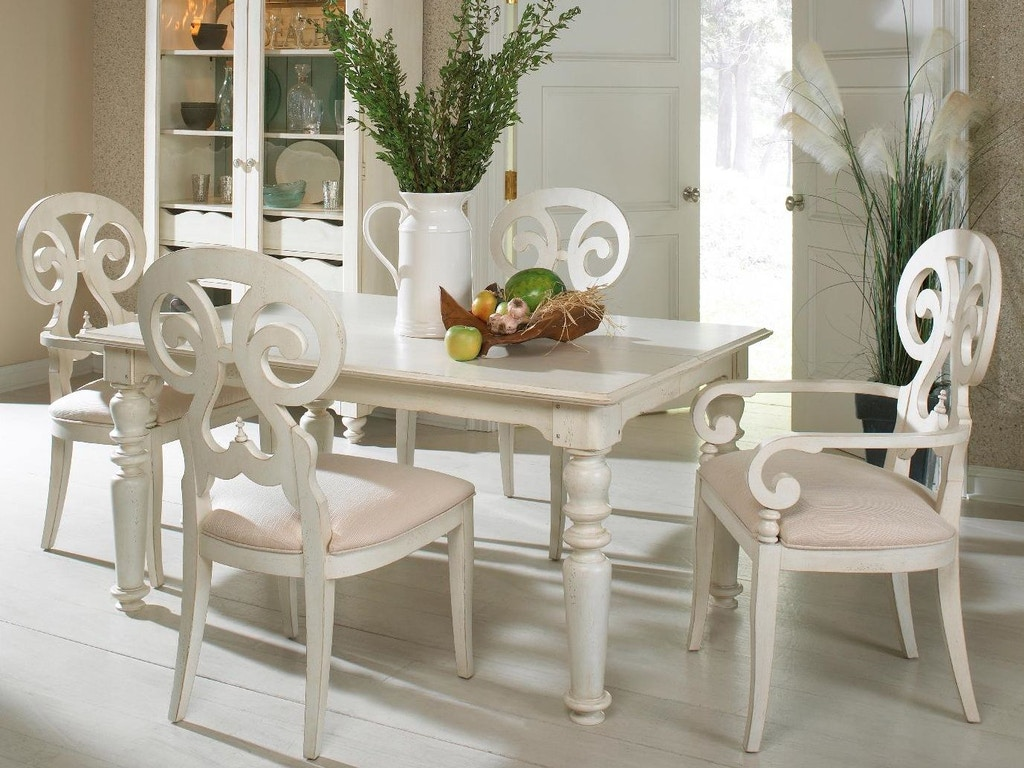 Fine Furniture Design Dining Room High Low Dining Table 1051 814 Aaron S Fine Furniture