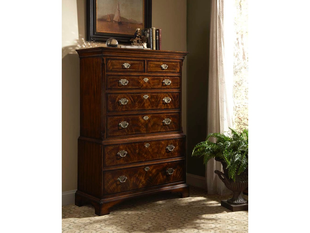 Fine Furniture Design Bedroom Chest On Chest 1110 110 Hickory Furniture Mart Hickory Nc