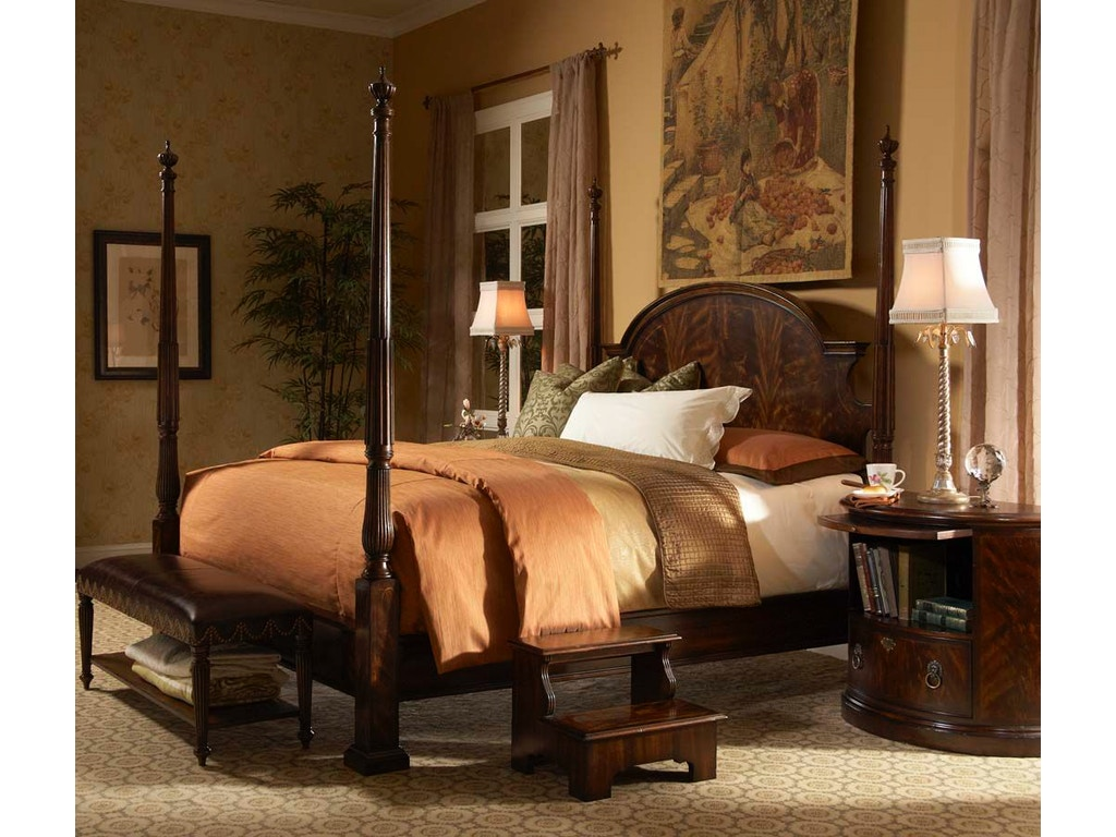 Fine Furniture Design Bedroom Poster Bed Queen 5 0 1110 451 452 453 Kalin Home Furnishings: home design furniture ormond beach fl