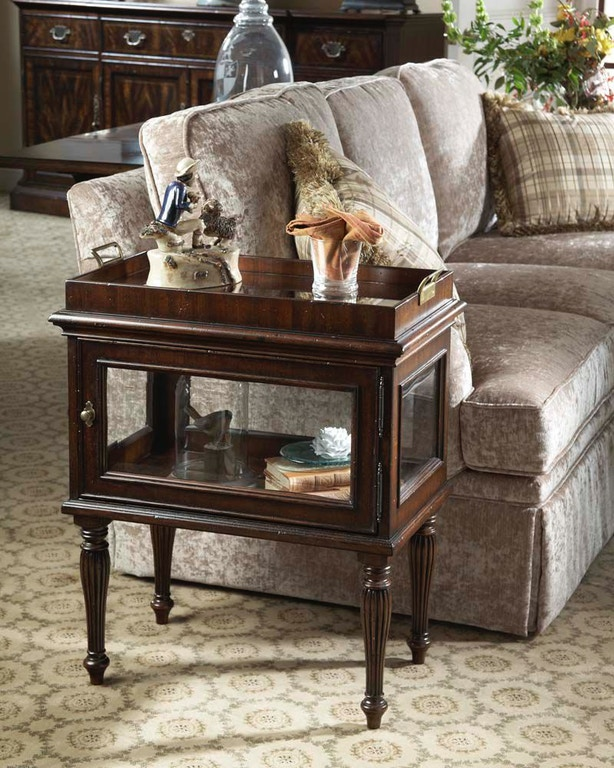 Fine Furniture Design Living Room Curio End Table 1110-962 ...
