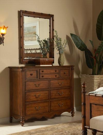 fine furniture design bamboo mirror