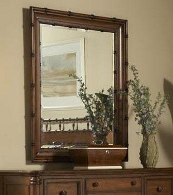 fine furniture design bamboo mirror - Bamboo Mirror