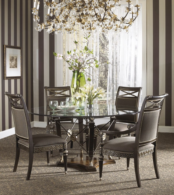 Fine Furniture Design Dining Room Round Dining Table Base 1150 810