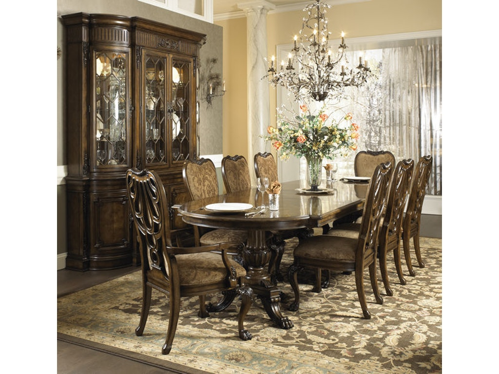 Fine furniture design dining room pedestal dining table for Fine dining room furniture