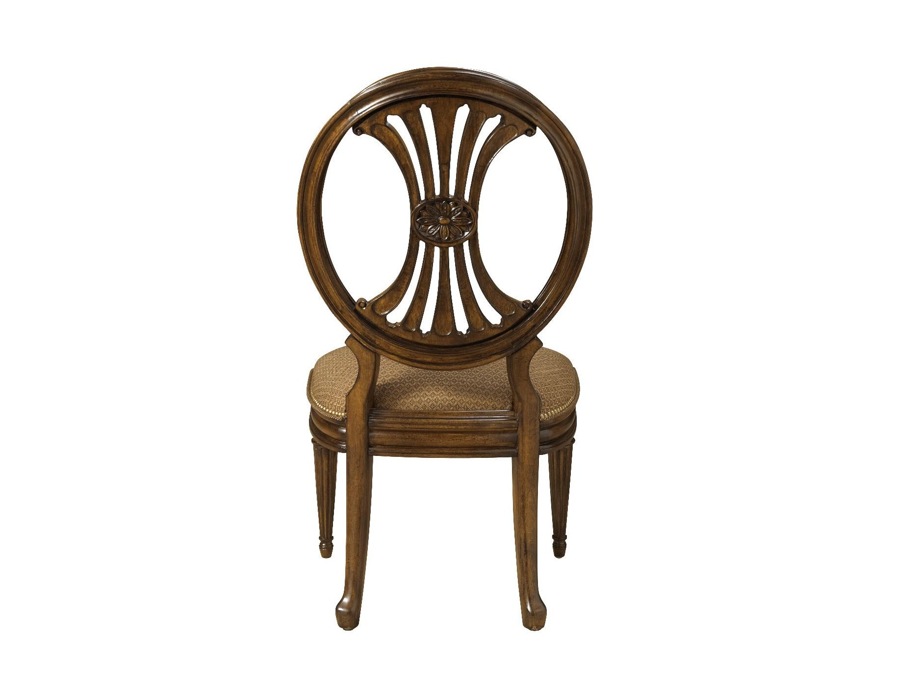 Fine Furniture Design Oval Back Side Chair 1150 824