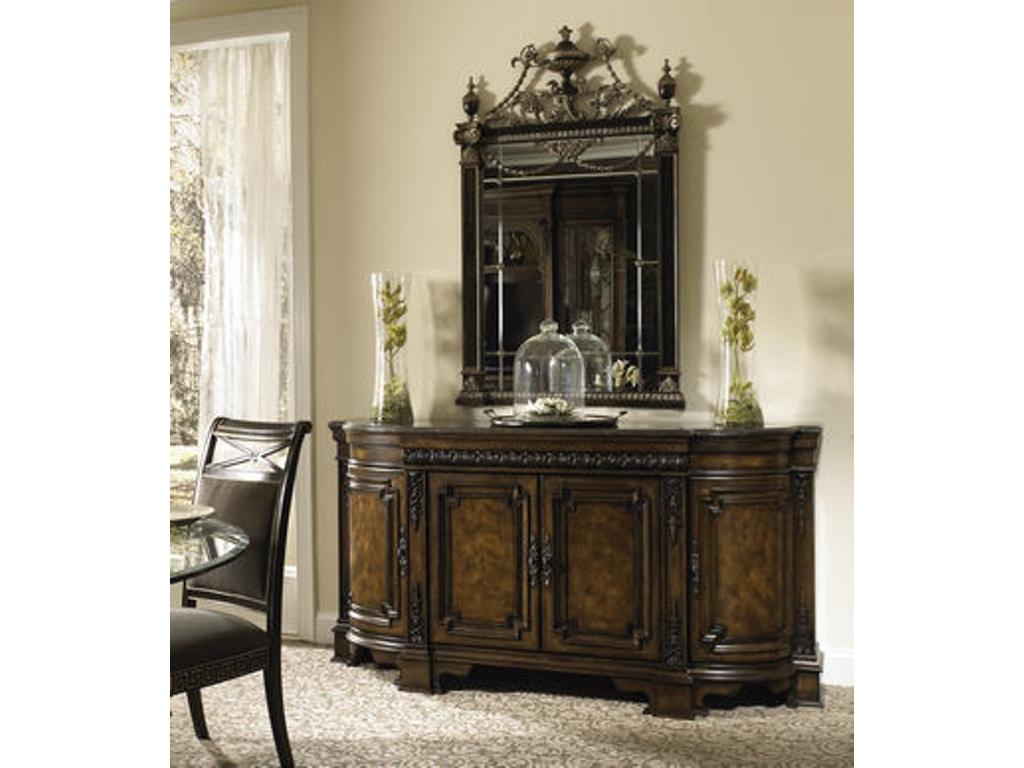 Fine Furniture Design Dining Room Credenza With Marble Top