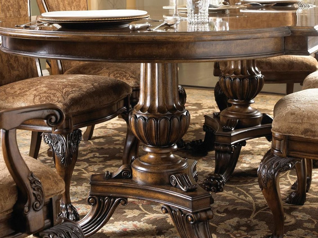 Fine Dining Room Tables And Chairs: Fine Furniture Design Dining Room Ped Dining Table 1150