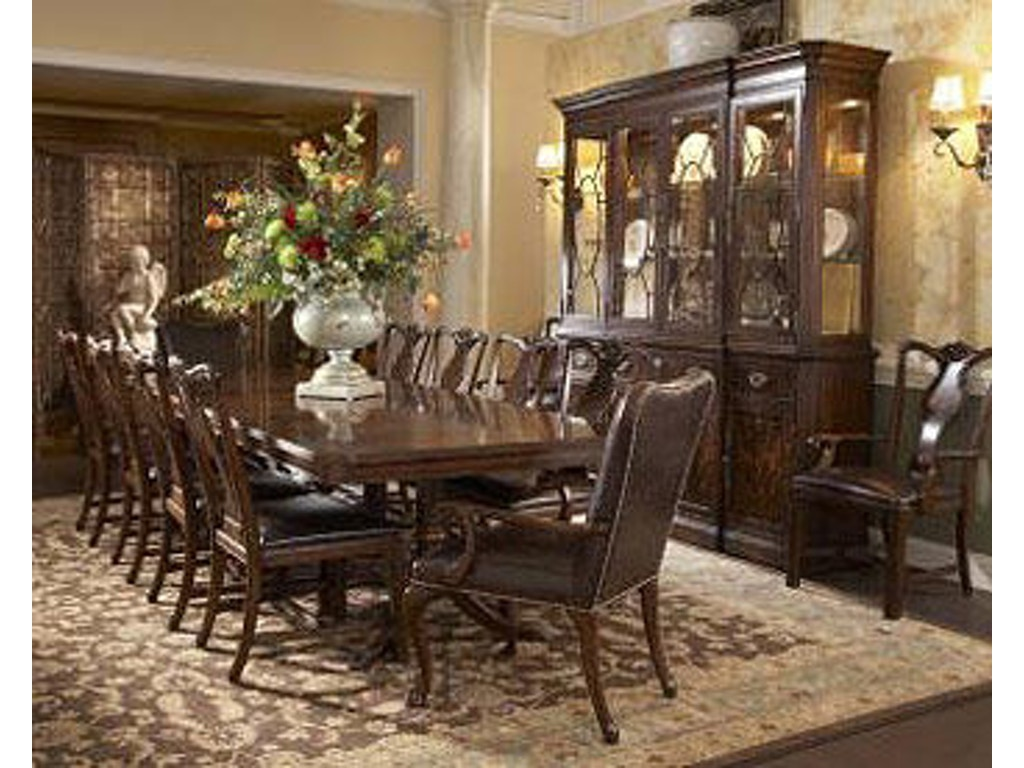 Fine Furniture Design Dining Room Double Pedestal Dining