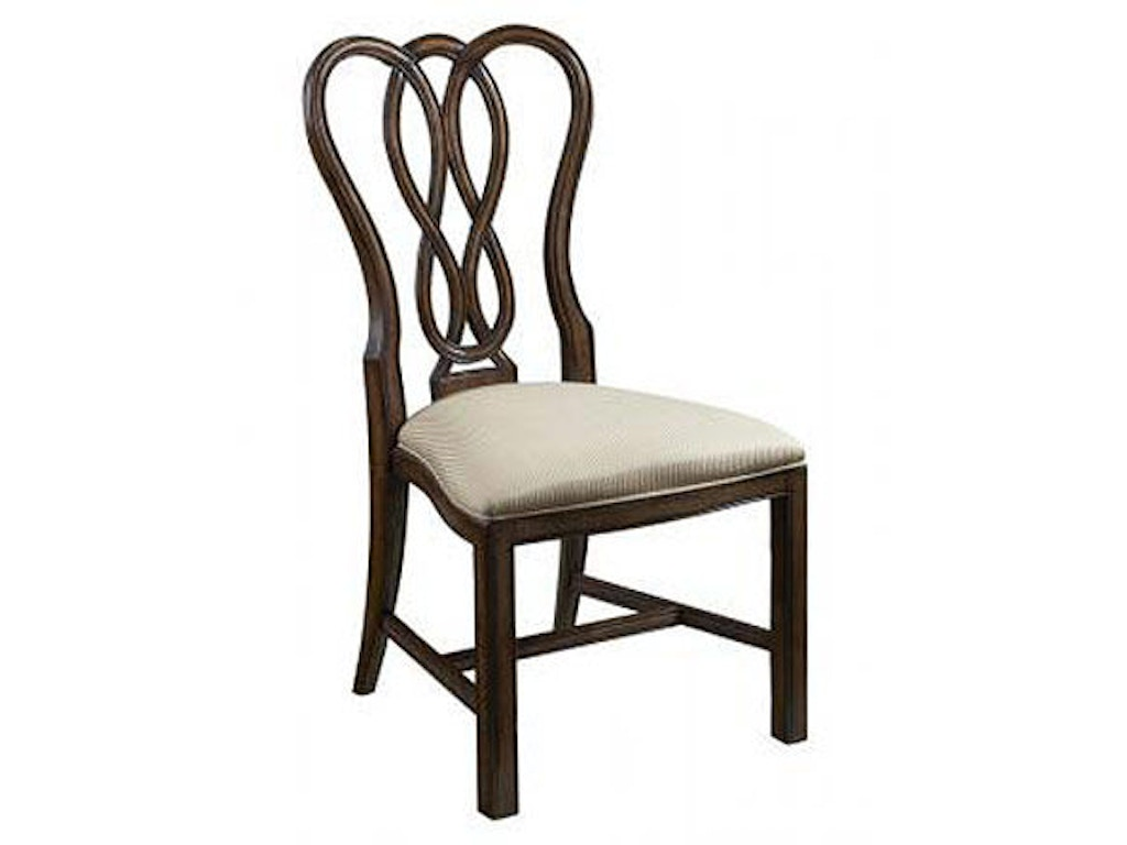 Fine furniture design dining room side chair 1110 820f for Fine dining room furniture