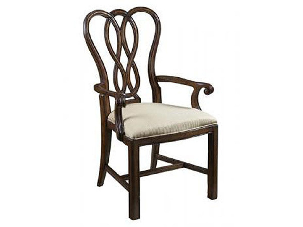 Fine furniture design dining room arm chair 1110 821f for Fine dining room furniture