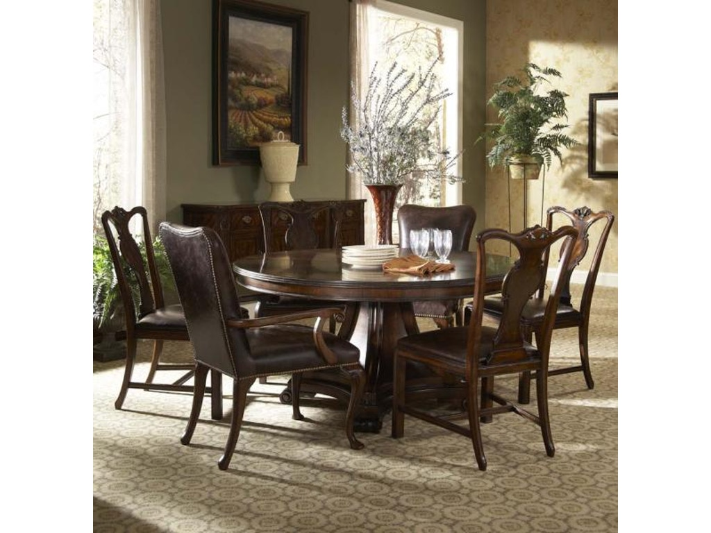 Fine furniture design dining room splat back side chair for Fine dining room furniture