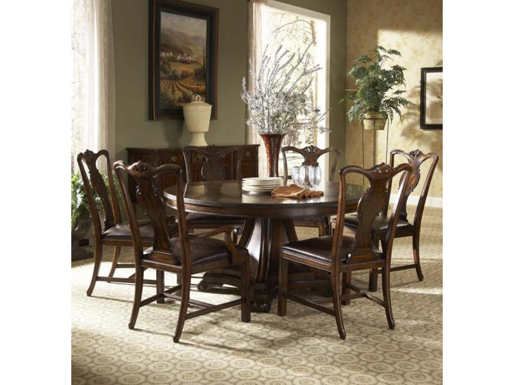 Fine furniture design dining room splat back arm chair for Fine dining room furniture